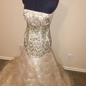 NWT Sue Wong Beaded Formal Gown Prom Dress 2